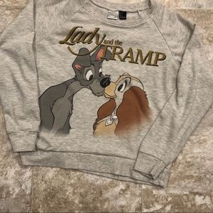 Disney Lady and the Tramp Sweater